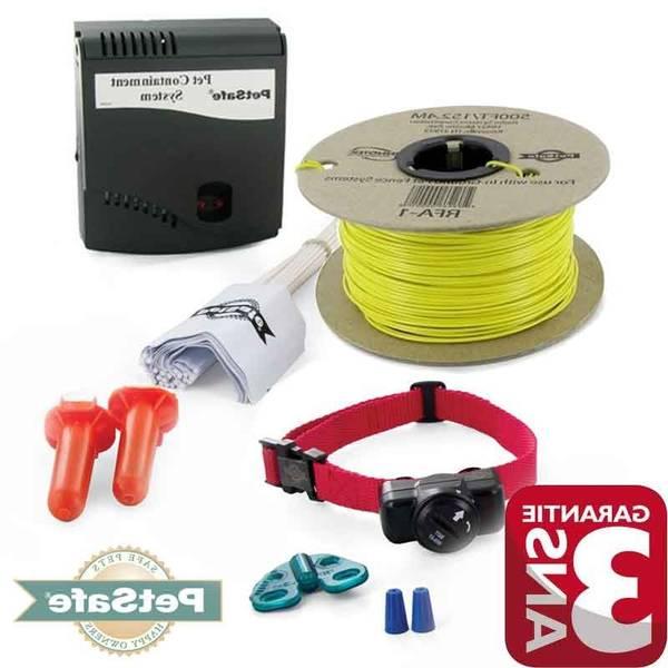 Collier anti fugue pour chien sans fil et collier electrique anti fugue pour chien sans fil